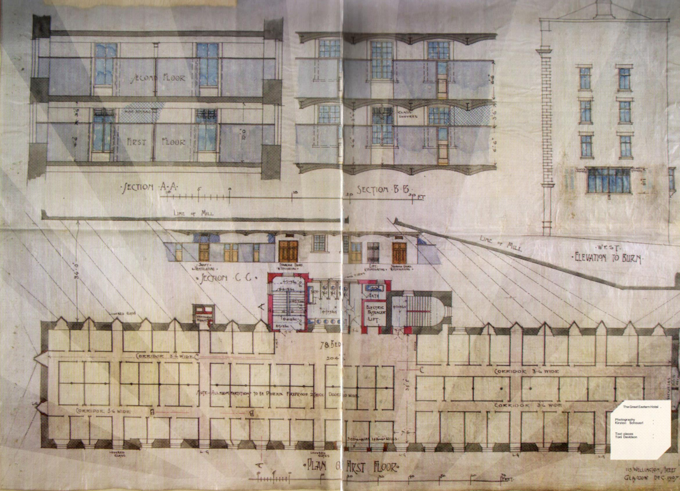 Hidden glasgow the great eastern working mans hotel blueprint malvernweather Image collections